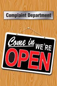 Complaint Department graphic