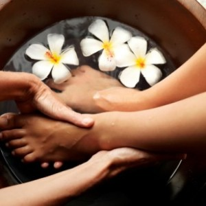 Coffee Foot Soak