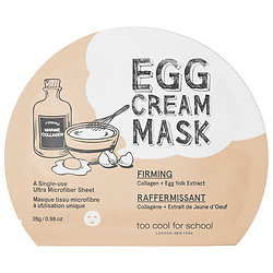 Egg Cream Face Mask
