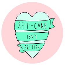 self-care isn't selfish graphic